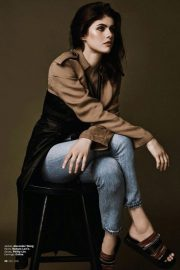Alexandra Daddario in Marie Claire Magazine, Indonesia May 2018 Issue 8