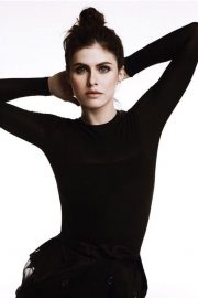 Alexandra Daddario Poses for Marie Claire Magazine, Indonesia May 2018 Issue 1