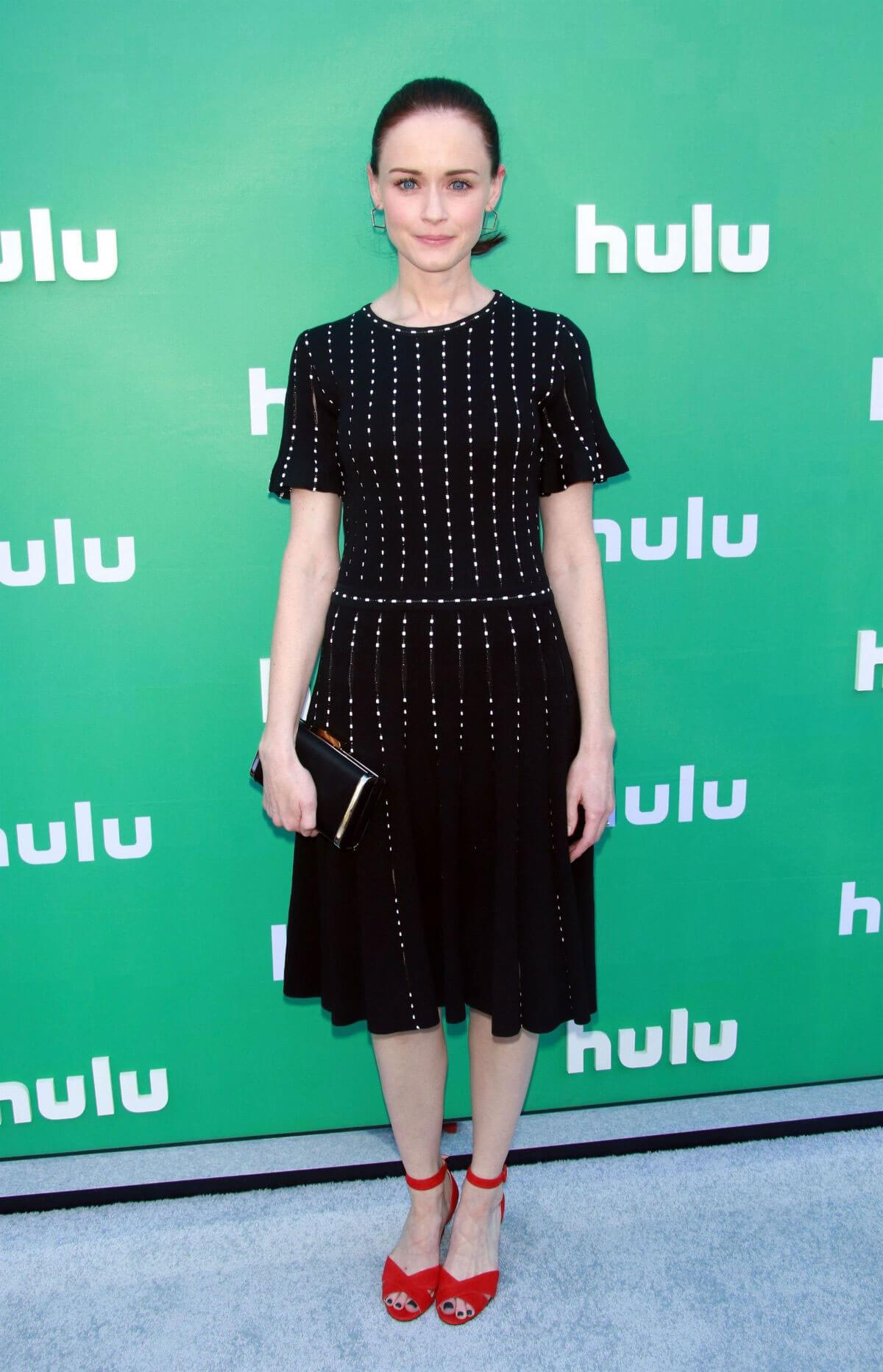 Alexis Bledel Stills at Hulu Upfront Presentation in New York 2018/05/02 11