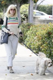 Alice Eve Out with Her Dog in Los Angeles 2018/05/29 2