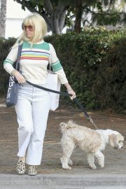 Alice Eve Out with Her Dog in Los Angeles 2018/05/29 3
