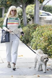 Alice Eve Out with Her Dog in Los Angeles 2018/05/29 10