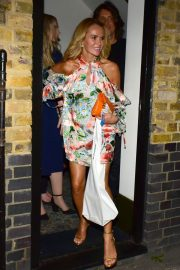Amanda Holden Leaves Kylie Minogue's Birthday Party in London 2018/05/27 10