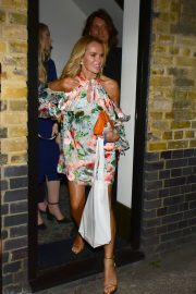 Amanda Holden Leaves Kylie Minogue's Birthday Party in London 2018/05/27 11