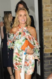 Amanda Holden Leaves Kylie Minogue's Birthday Party in London 2018/05/27 13