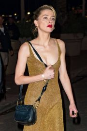 Amber Heard Stills Night Out in Cannes 2018/05/09 13