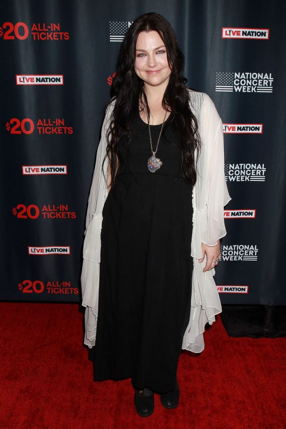 Amy Lee Stills at Live Nation Launches National Concert Week in New York 2018/04/30 4