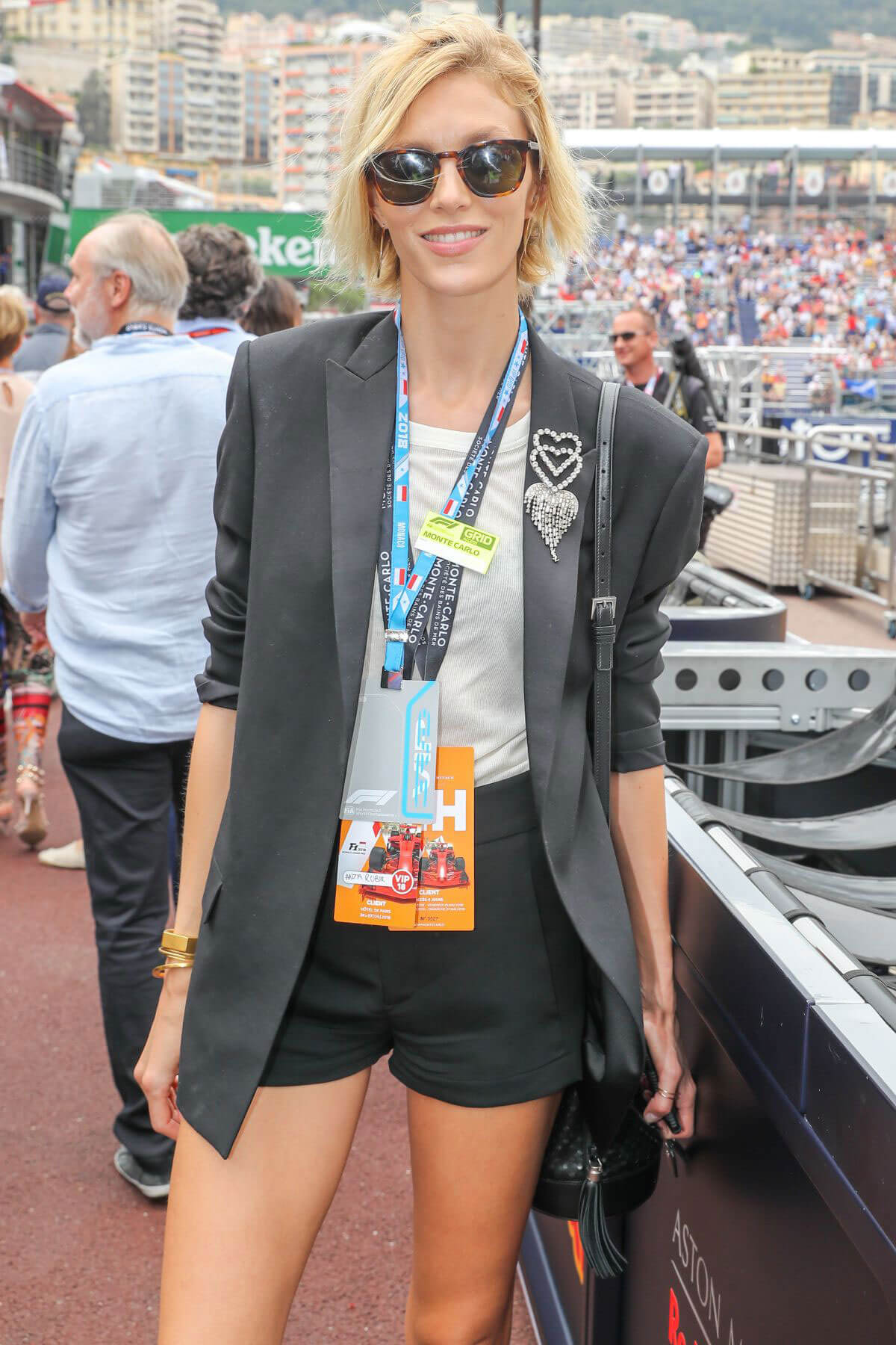 Anja Rubik at Monaco Formula 1 Grand Prix in Monte Carlo 2018/05/27 2