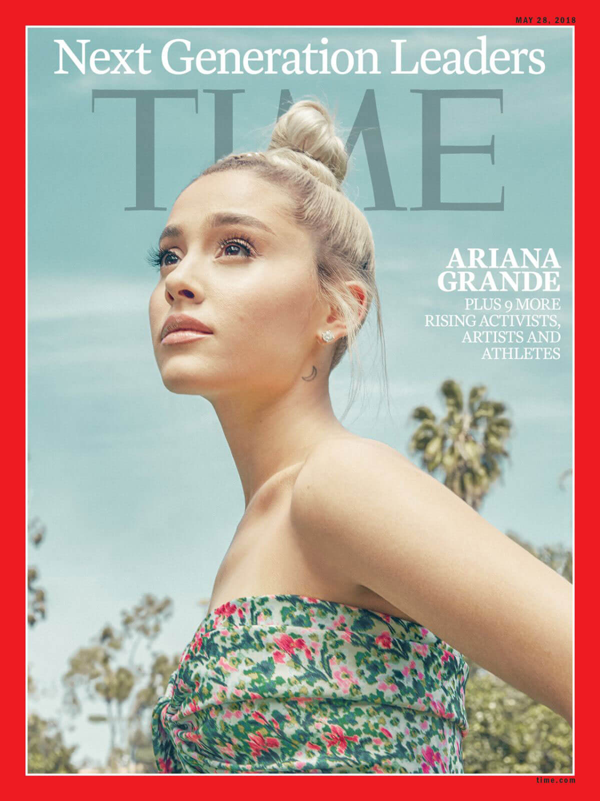Ariana Grande Stills in Time Magazine's Next Generation Leaders, May 2018 Issue 2