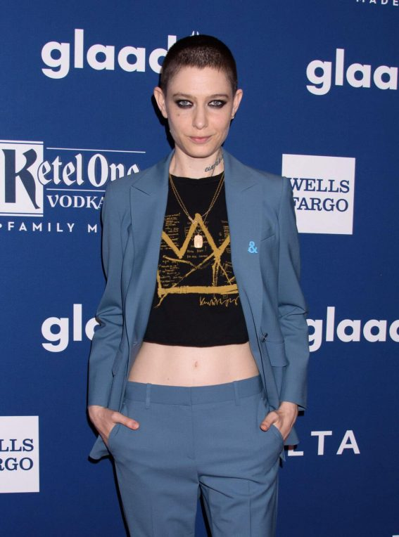 Asia Kate Dillon Stills at 2018 Glaad Media Awards in New York 2018/05/05 7