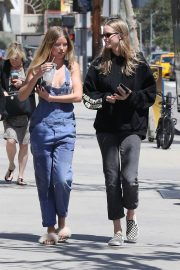 Baskin Champion and Abby Champion Stills Out for Lunch in Brentwood 2018/04/25 22