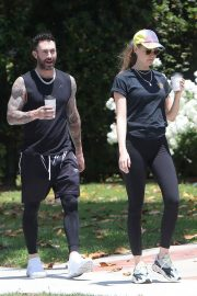 Behati Prinsloo and Adam Levine Out and About in Los Angeles 2018/05/27 2