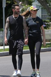 Behati Prinsloo and Adam Levine Out and About in Los Angeles 2018/05/27 10
