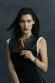 Bella Hadid Poses for Magnum Ice Cream, May 2018 Issue 5