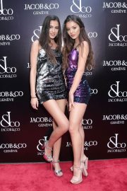 Brooke Korine and Nora Gjieli Stills at Jacob & Co. Flagship Store Re-opening in New York 2018/04/26 1