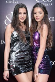 Brooke Korine and Nora Gjieli Stills at Jacob & Co. Flagship Store Re-opening in New York 2018/04/26 2