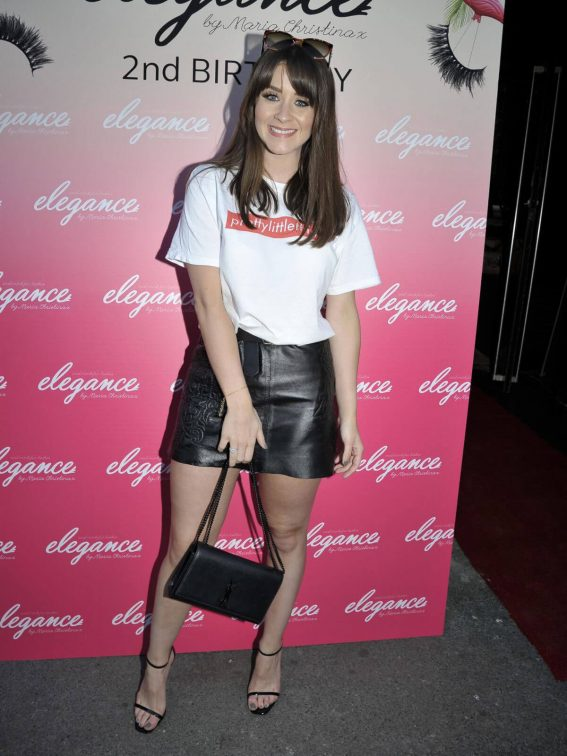 Brooke Vincent at Elegance Lash Birthday Party in Manchester 2018/05/24 3