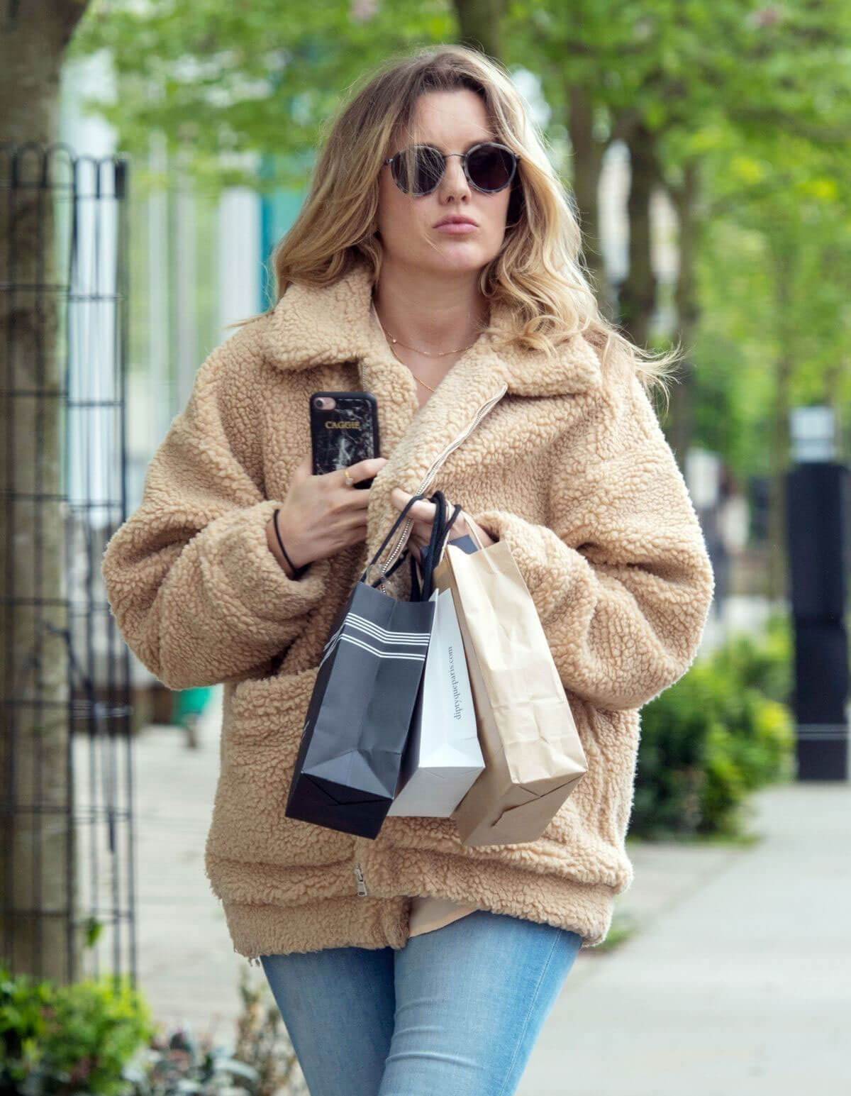 Caggie Dunlop Stills Out and About in London 2018/05/03 10