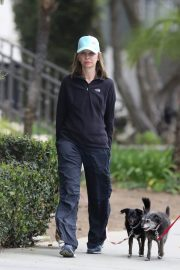 Calista Flockhart Stills Out with Her Dogs in Santa Monica 2018/04/30 5