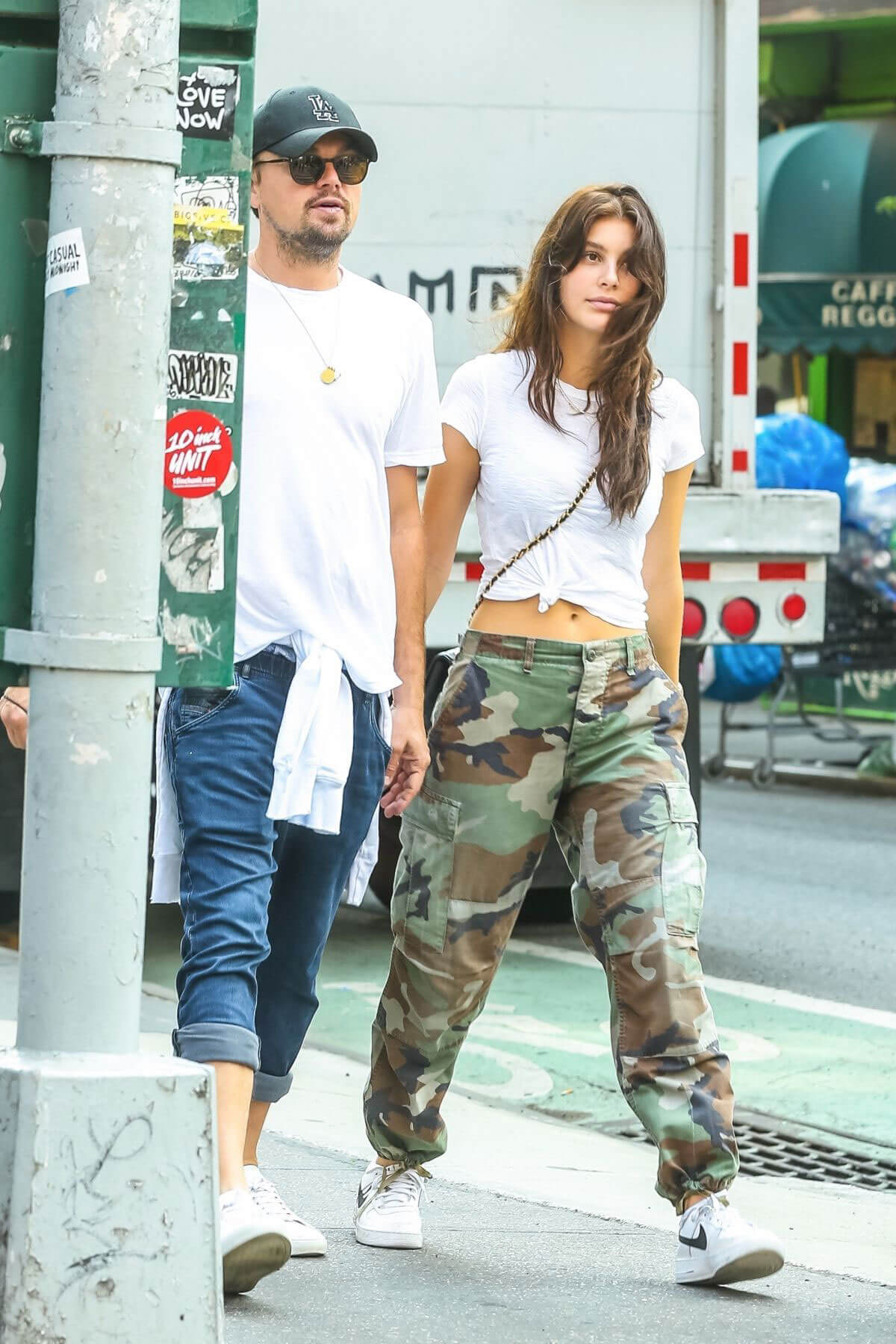 Camila Morrone and Leonardo Dicaprio Stills Out in New York 2018/05/15 11
