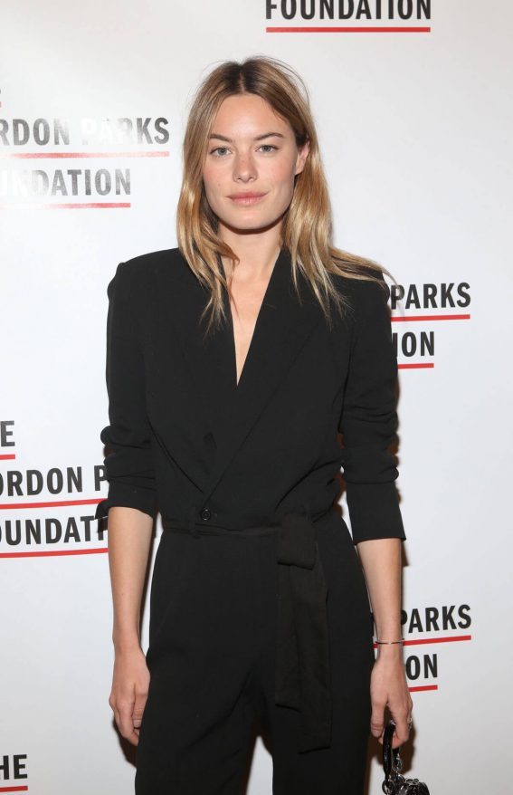 Camille Rowe Stills at Gordon Parks Foundation Annual Awards Dinner in New York 2018/05/22 3