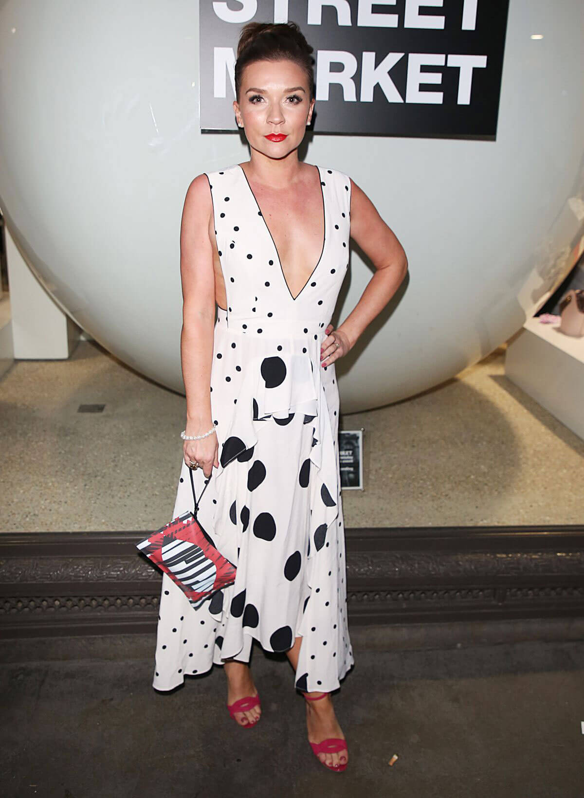 Candice Brown Stills at Hello! Magazine x Dover Street Market 30th Anniversary Party in London 2018/05/09 3