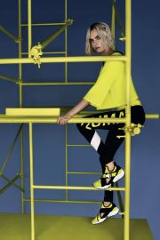 Cara Delevingne Poses for Puma Muse Cut-out Sneaker 2018 Campaign Photos 2