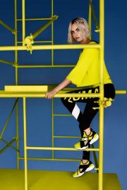 Cara Delevingne Poses for Puma Muse Cut-out Sneaker 2018 Campaign Photos 5