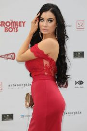 Carla Howe at Bromley Boys Premiere in London 2018/05/24 12