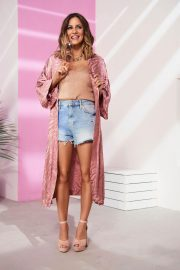 Caroline Flack Poses for White New River Island Collection, May 2018 Issue 2