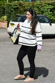 Casey Batchelor Stills Out and About in Essex 2018/04/26 2