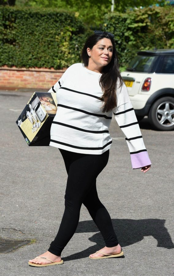 Casey Batchelor Stills Out and About in Essex 2018/04/26 5
