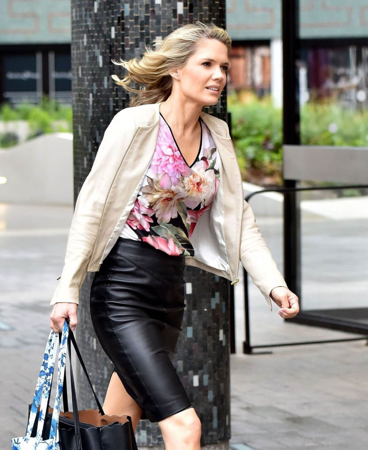 Charlotte Hawkins Stills Out and About in London 2018/05/02 3