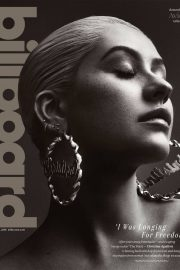 Christina Aguilera Poses for Billboard Magazine, May 2018 Issue 13