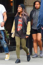 Christina Milian Stills Out in New York 2018/05/18 2