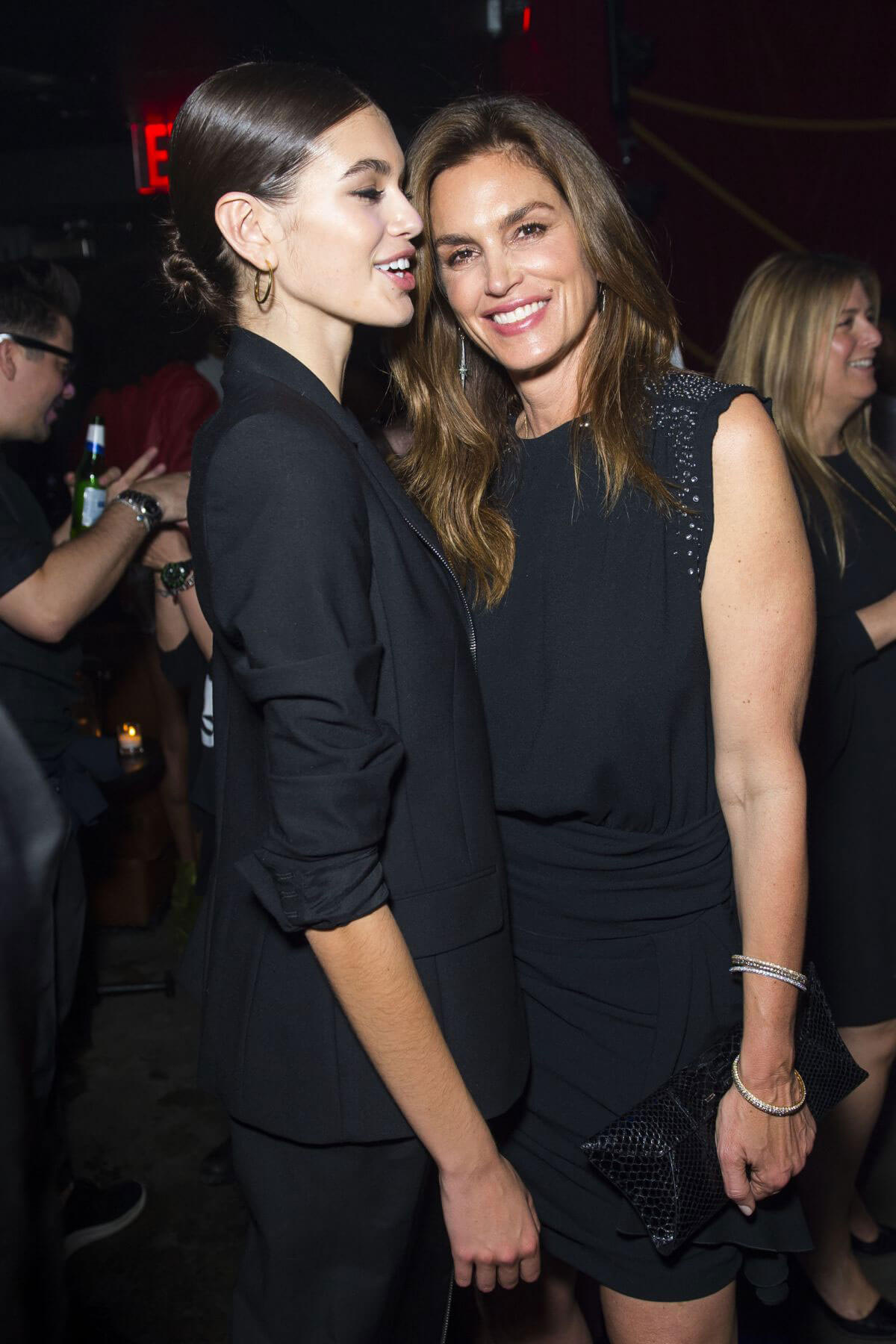Cindy Crawford and Kaia Gerber Stills at Harry Josh Pro Tools 5th Anniversary Celebration in New York 2018/05/05 5