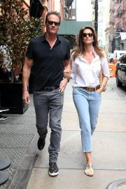 Cindy Crawford and Rande Gerber Stills Out in New York 2018/05/05 1