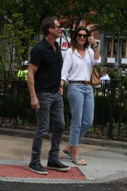 Cindy Crawford and Rande Gerber Stills Out in New York 2018/05/05 2