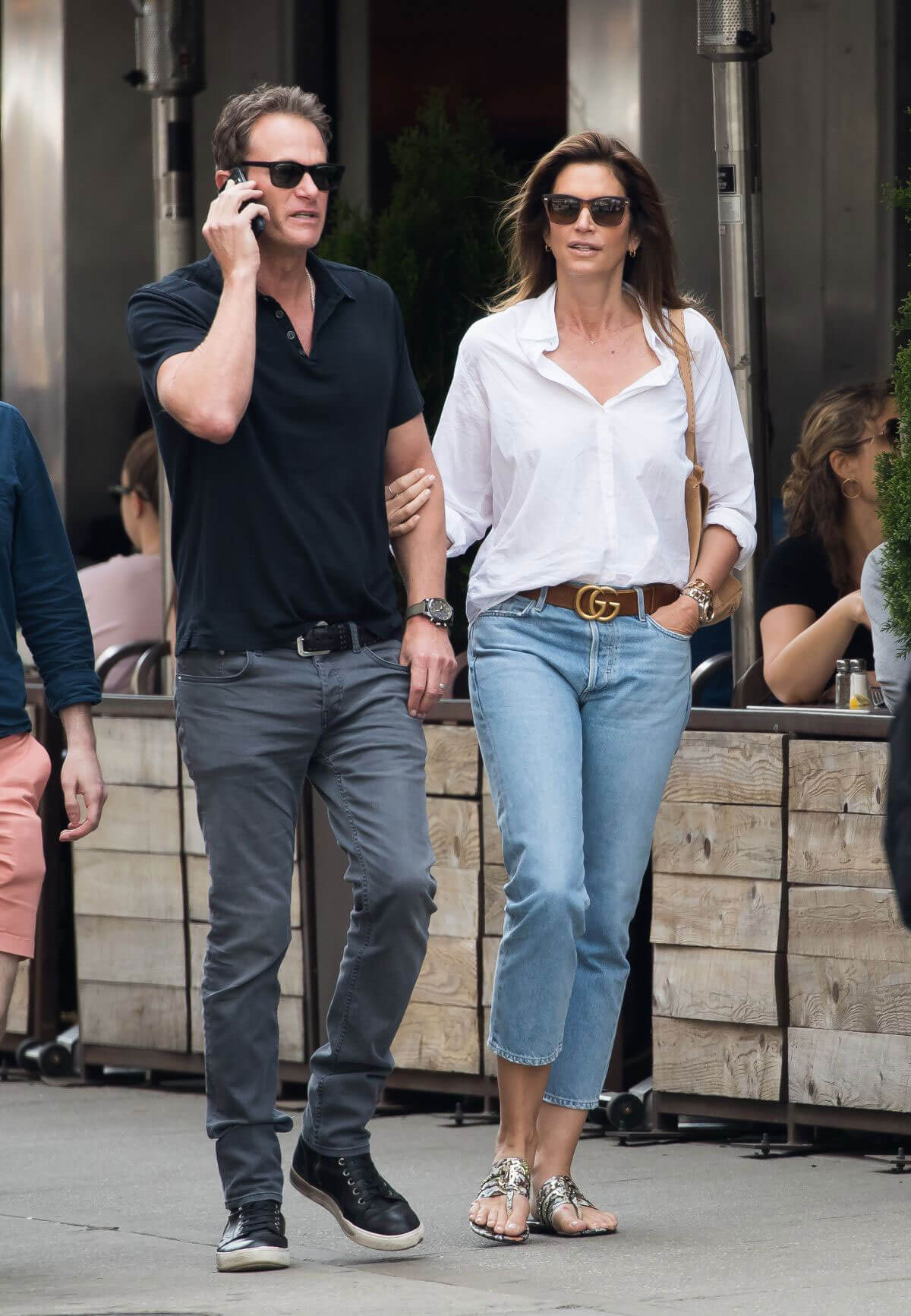 Cindy Crawford and Rande Gerber Stills Out in New York 2018/05/05 6
