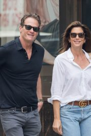 Cindy Crawford and Rande Gerber Stills Out in New York 2018/05/05 8