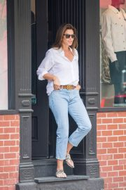 Cindy Crawford and Rande Gerber Stills Out in New York 2018/05/05 10
