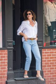 Cindy Crawford and Rande Gerber Stills Out in New York 2018/05/05 11