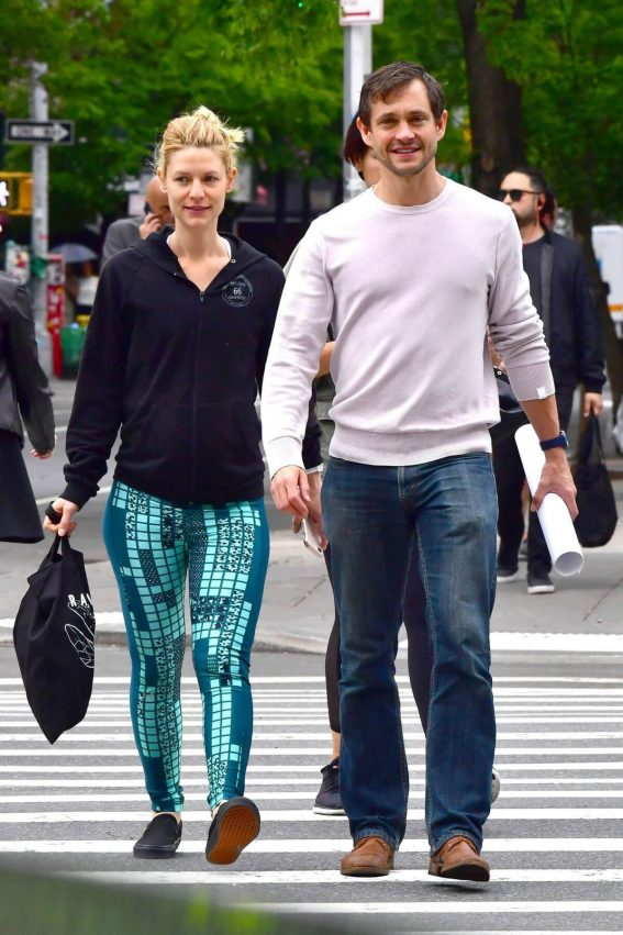 Claire Danes and Hugh Dancy Stills Out in New York 2018/05/16 6