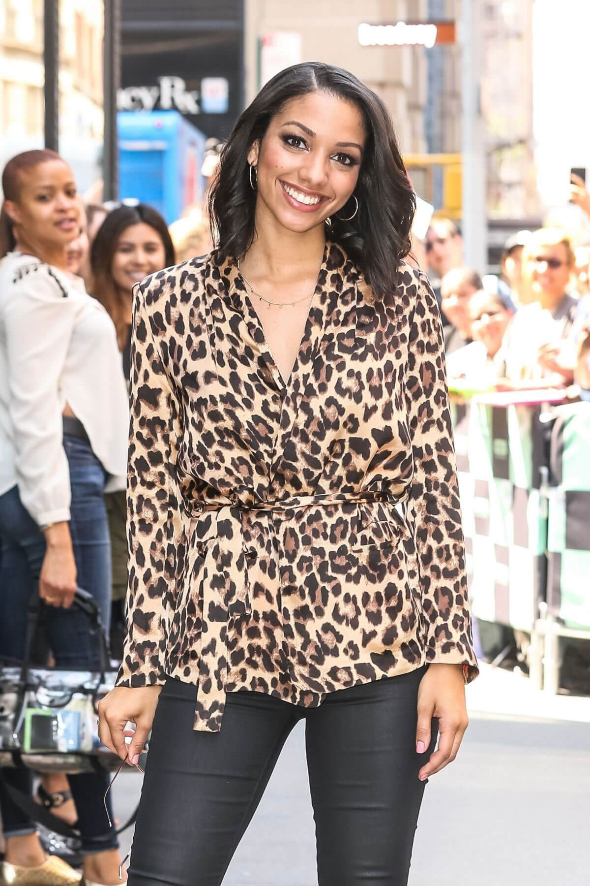 Corinne Foxx Stills at AOL Build Series in New York 2018/05/15 12