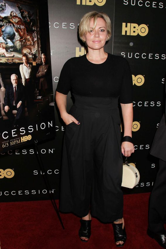 Dagmara Dominczyk Stills at Succession Show Premiere in New York 2018/05/22 6