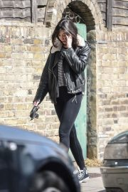 Daisy Lowe Stills Out with Her Dog in London 2018/05/03 6