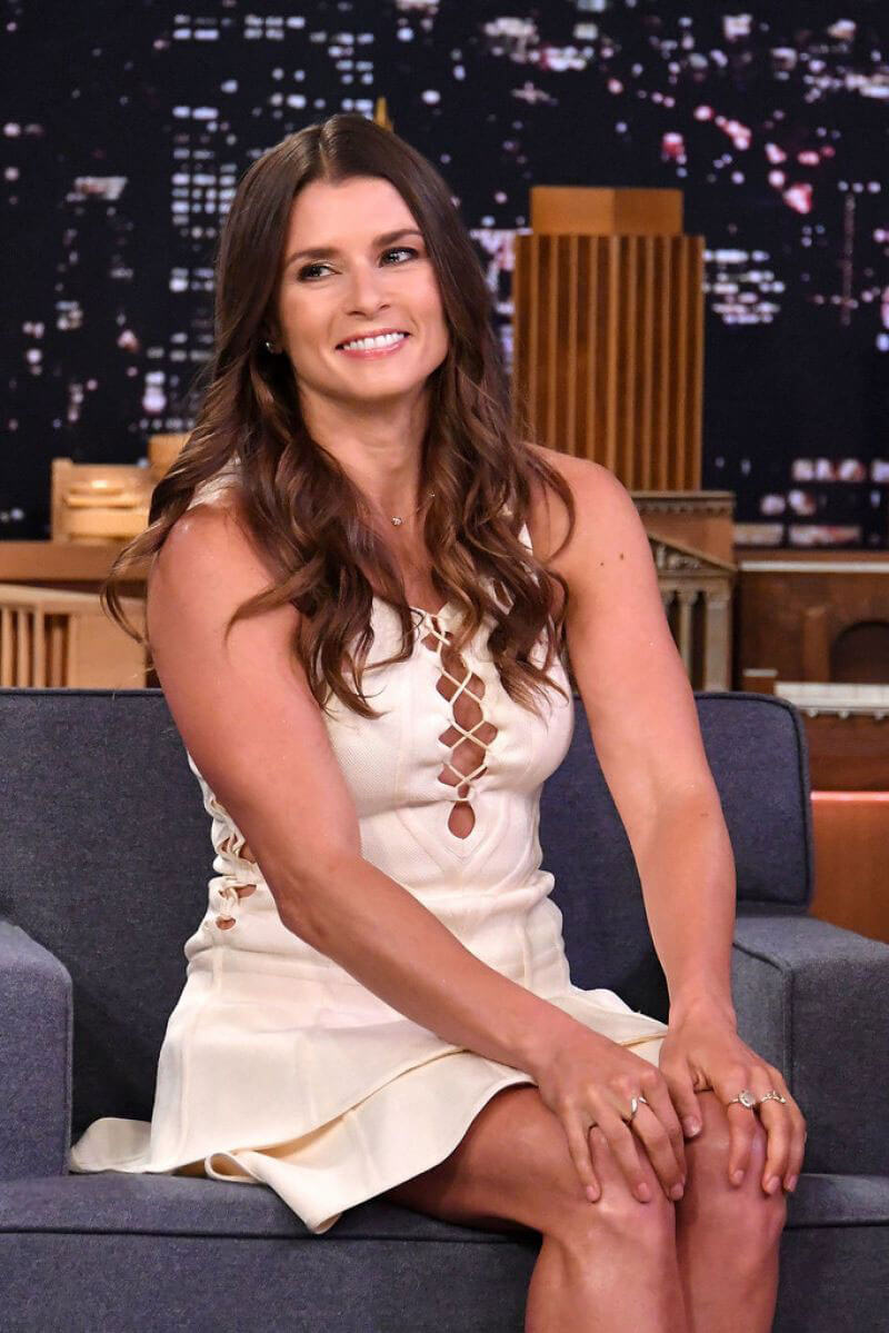 Danica Patrick Stills at Tonight Show Starring Jimmy Fallon in New York 2018/05/22 2