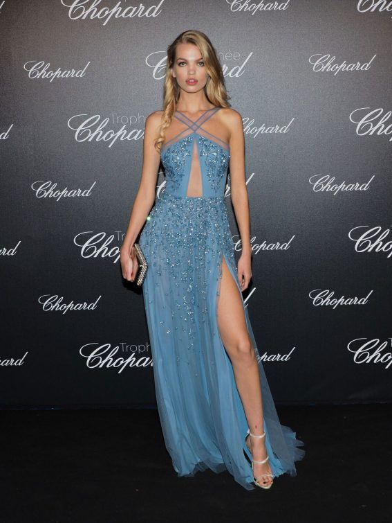 Daphne Groeneveld at Chopard Trophy Photocall at 2018 Cannes Film Festival 2018/05/14 5