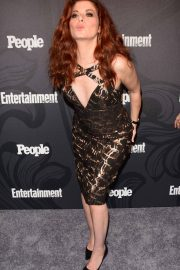 Debra Messing Stills at EW & People New York Upfronts Celebration 2018/05/14 2