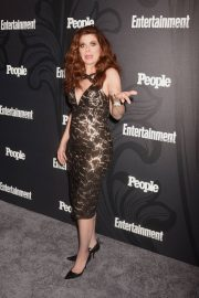 Debra Messing Stills at EW & People New York Upfronts Celebration 2018/05/14 11